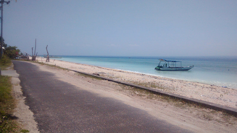 Nusa Lembongan en Moto
