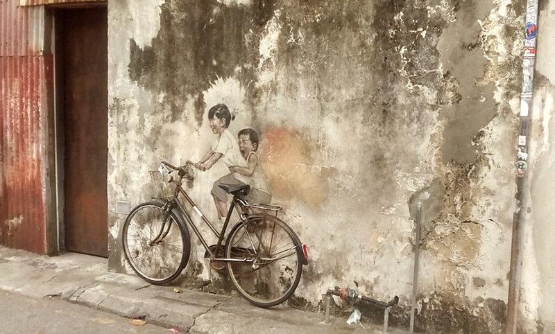 Penang Y El Arte Urbano De George Town