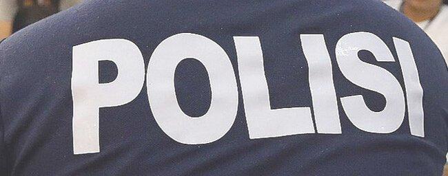 Policía en Bali