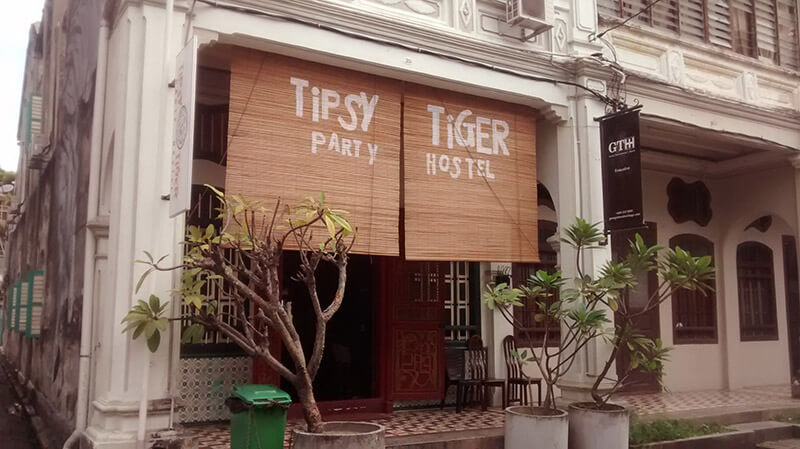 Tipsy Tiger Party Hostel George Town