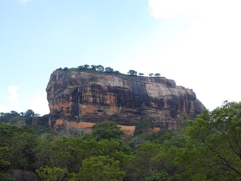 Roca de Sigirya - Viajar a Sri Lanka