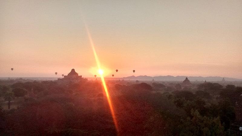 Viajar a Birmania - Bagan