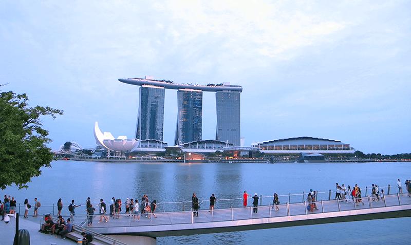 Viajar a Singapur - Marina Bay