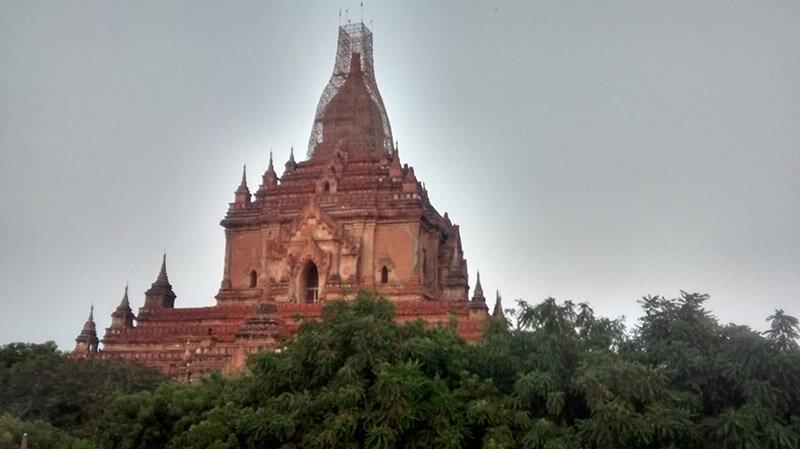 Templo en Bagan, Myanmar