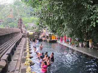 Templo en Ubud - Pura Tirta Empul