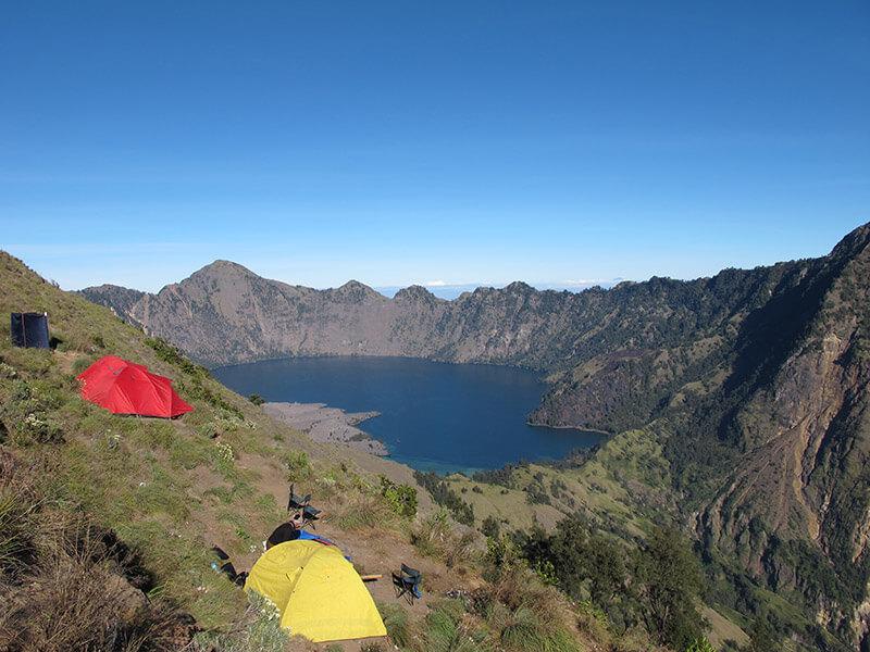 Trekking en Mount Rinjani