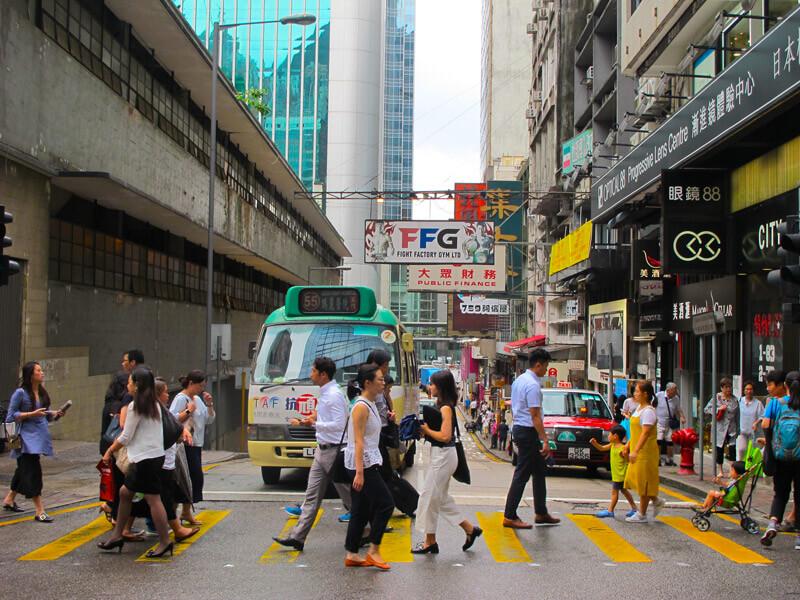 Cómo moverse por Hong Kong