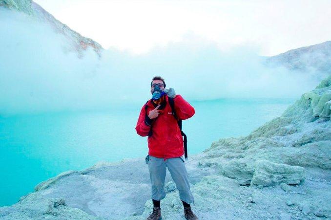 Trekking Kawah Ijen - Lava Azul