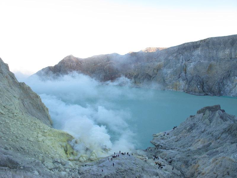 Kawah Ijen - Volcanes de Indonesia